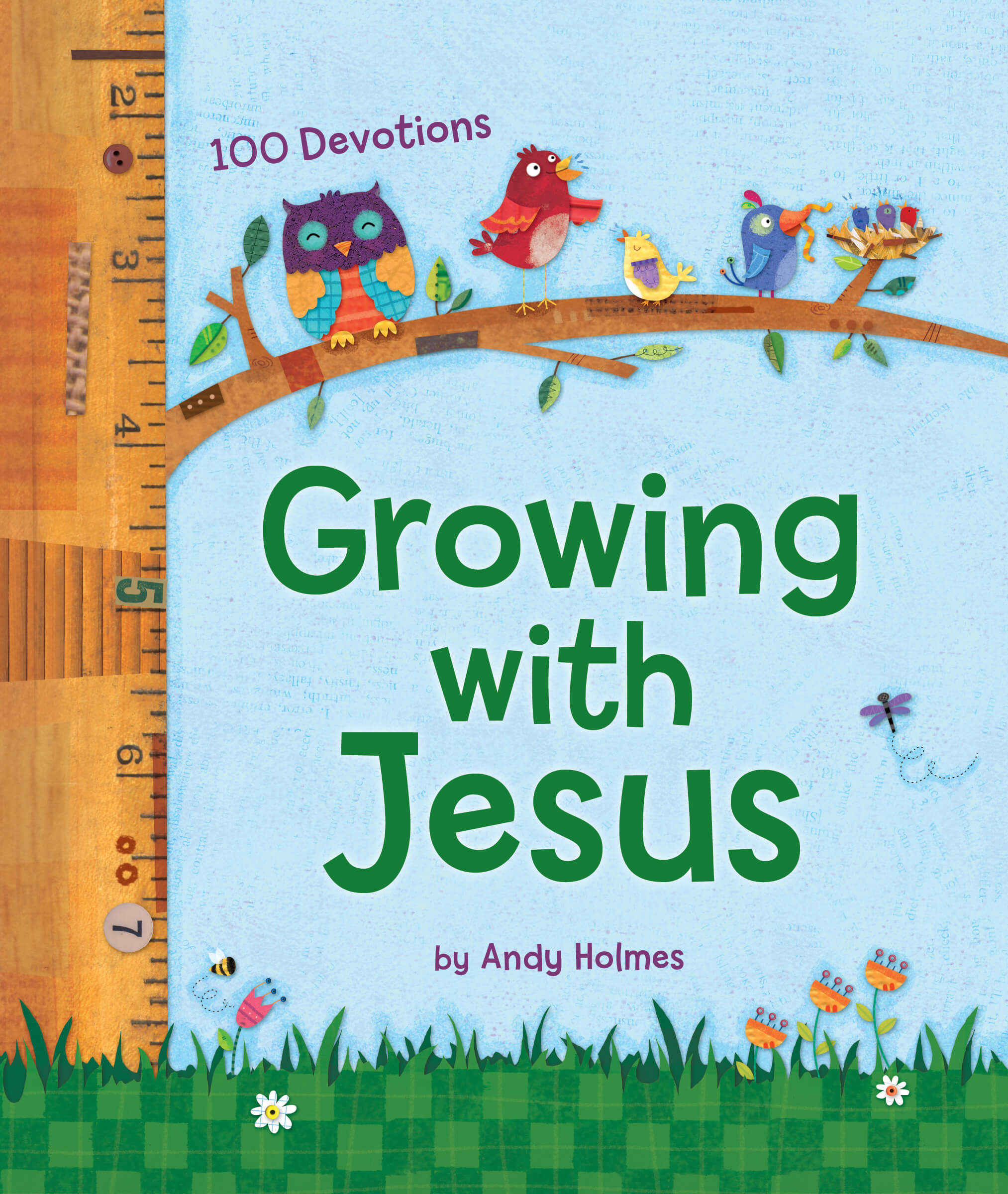Growing with Jesus book image on Healthy Body, Healthy Faith blog