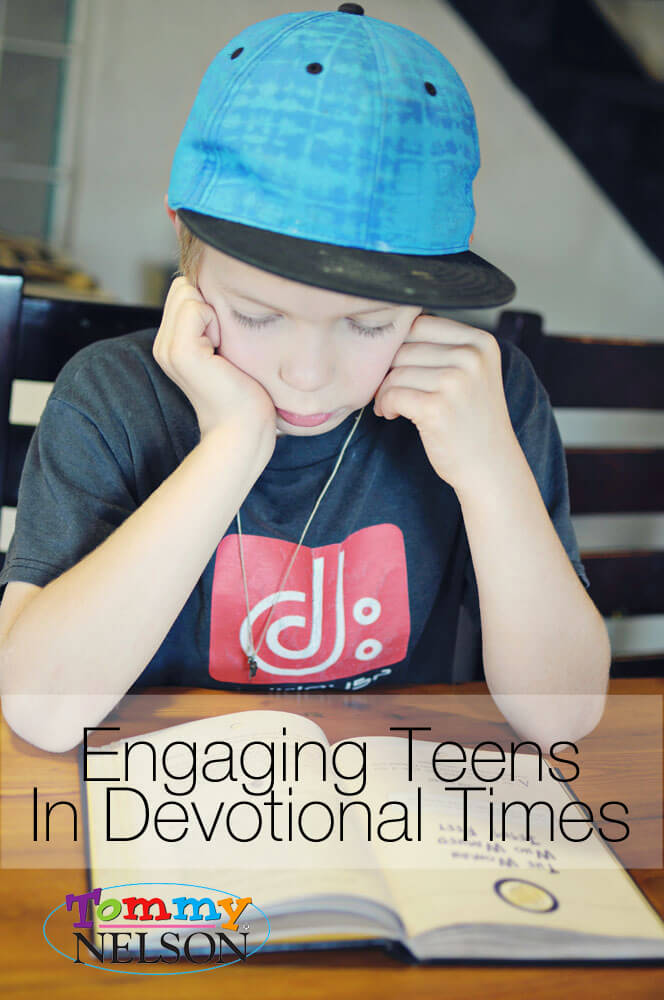 Engaging Teens In Devotional Times