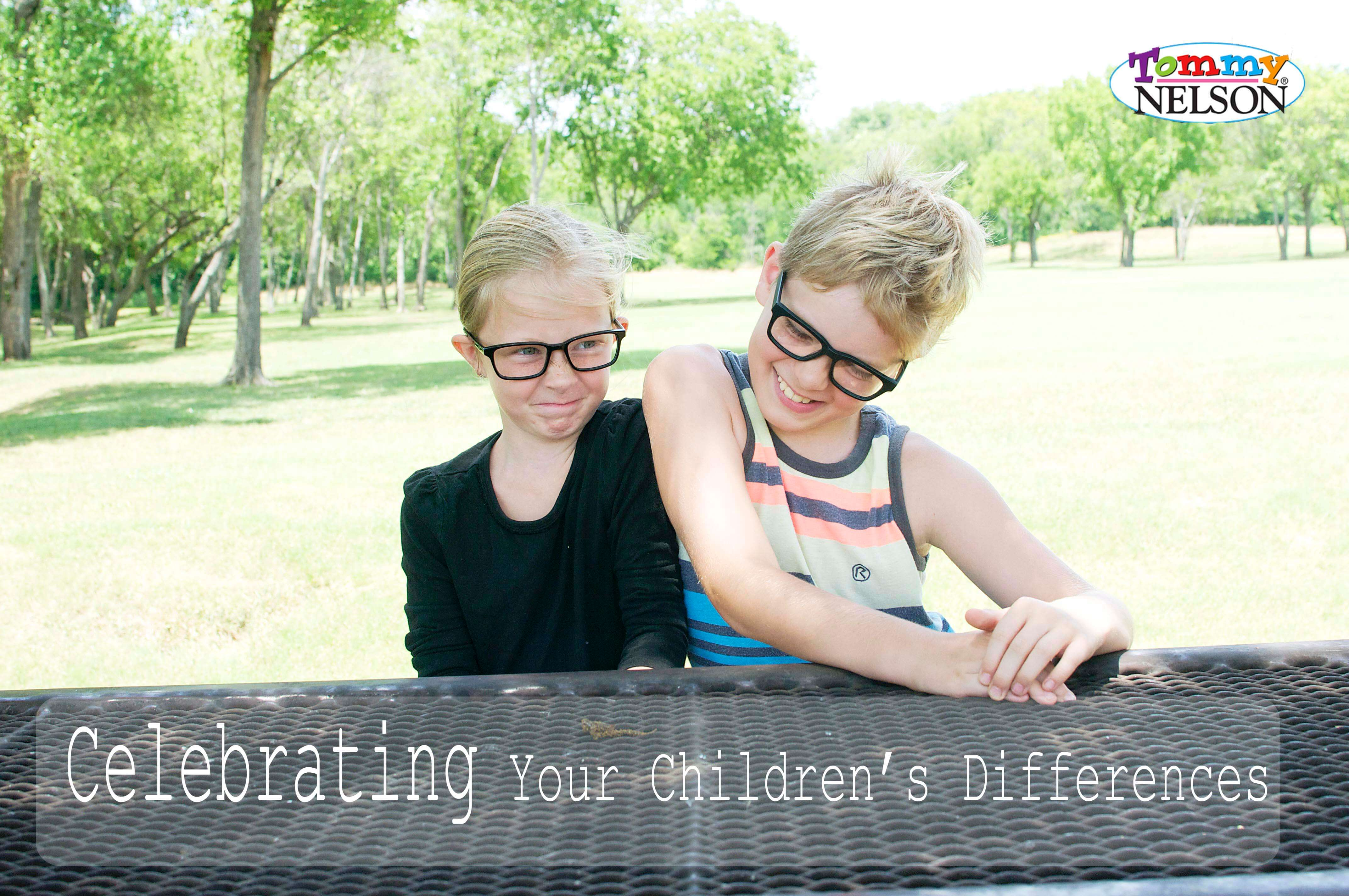 Tommy Nelson Mommy Jen Price shares 3 ways that she celebrates her children's differences.