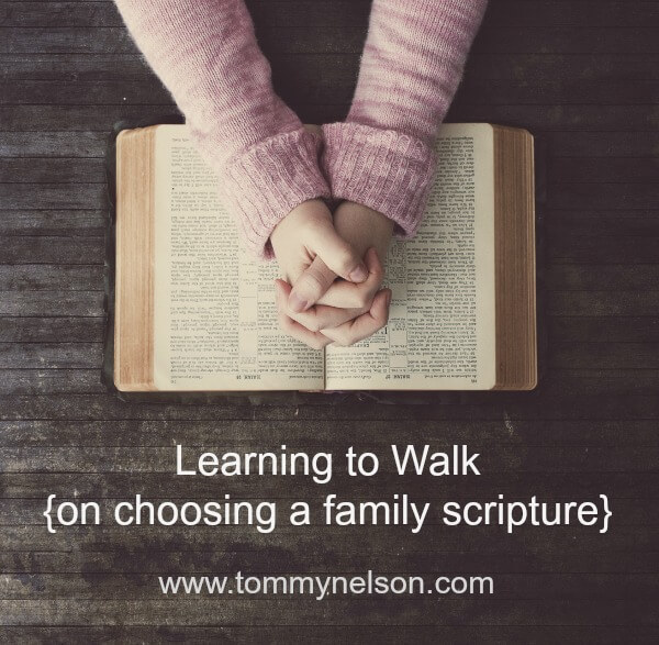 Choosing a Family Scripture