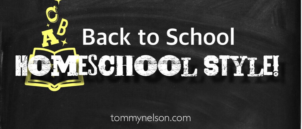 back to school - homeschool style!