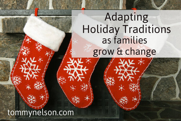 adapting christmas traditions