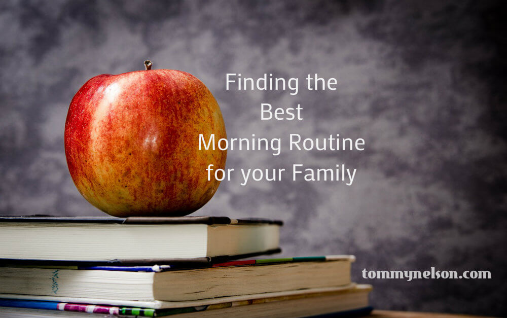 morning routine tommy nelson
