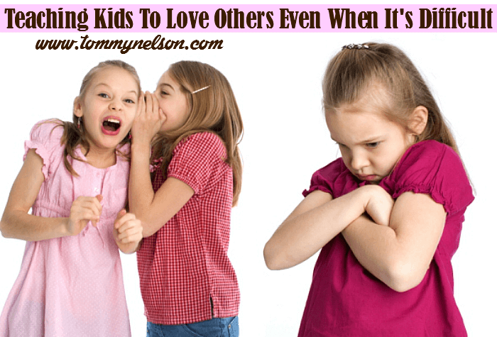teaching kids to love others